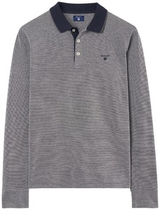 Gant 4 Color Oxford Poloshirt Dark Grey Melange