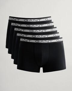 Gant 5Pack Basic Shorts Ondermode Zwart
