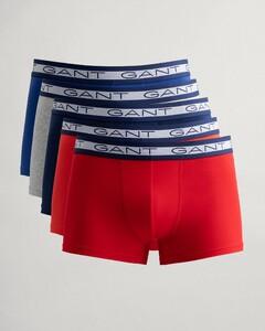 Gant 5Pack Basic Shorts Underwear Bright Red