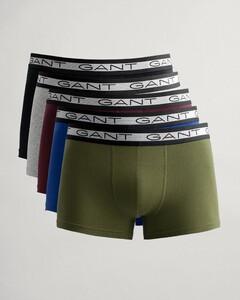 Gant 5Pack Basic Shorts Underwear Olive Branch Green