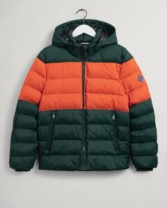 Gant Active Cloud Color Block Jacket Jack Groen