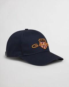 Gant Archive Shield Cotton Cap Cap Marine