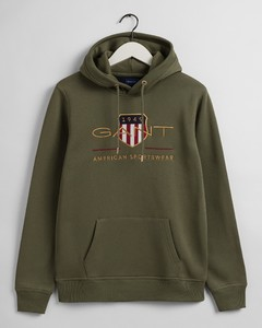 Gant Archive Shield Hoodie Pullover Four Leaf Clover