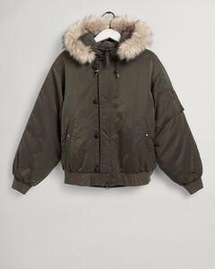 Gant Arctic Bomber Jacket Jack Bladgroen