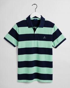 Gant Barstripe Piqué Rugger Poloshirt Breeze