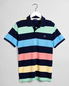 Gant Barstripe Piqué Rugger Poloshirt Multicolor