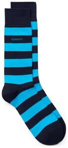 Gant Barstripe Socks Sokken Turquoise