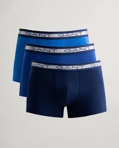 Gant Basic Trunk 3Pack Underwear Navy