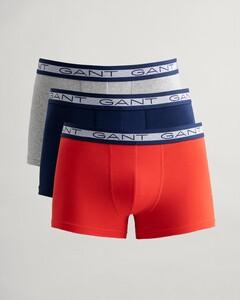 Gant Basic Trunk 3Pack Underwear Red Orange