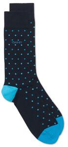 Gant Bi Color Dot Socks Sokken Turquoise