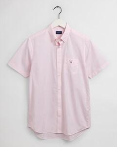 Gant Broadcloth Banker Fine Stripe Overhemd California Pink