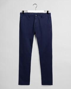 Gant Brushed Extra Slim Chino Pants Marine