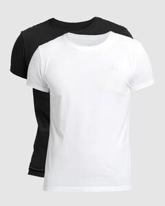 Gant C-Neck 2Pack T-Shirt Black-White