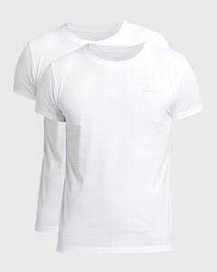 Gant C-Neck 2Pack T-Shirt White