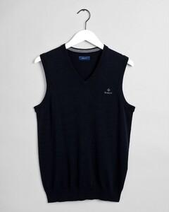 Gant Classic Cotton Slipover Slip-Over Avond Blauw