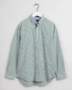 Gant Contrast Banker Overhemd Bladgroen