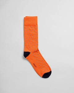 Gant Contrast Dot Sock Sokken Arancia
