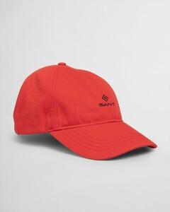 Gant Contrast Twill Cap Cap Lava Red