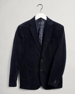 Gant Corduroy Blazer Jacket Evening Blue