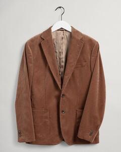 Gant Corduroy Blazer Jacket Roasted Walnut