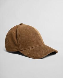 Gant Corduroy Cap Cap Dark Cactus