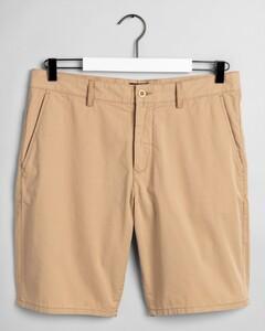 Gant Cotton Summer Shorts Bermuda Donker Khaki