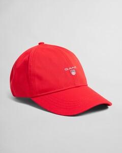 Gant Cotton Twill Cap Cap Bright Red