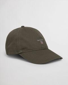 Gant Cotton Twill Cap Cap Dark Leaf