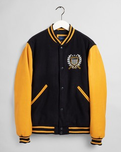 Gant Crest Varsity Jacket Jack Evening Blue