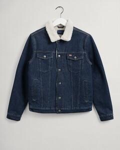 Gant Denim Jacket Jack Dark Blue Worn In