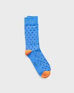 Gant Diamond Dot Sock Socks Pacific Blue