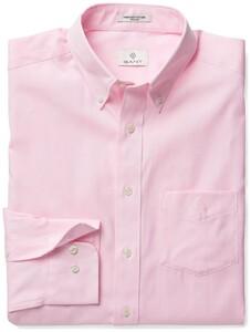 Gant Diamond G Pinpoint Oxford Shirt Soft Pink
