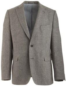 Gant Essention Lambswool Blazer Colbert Dark Grey Melange