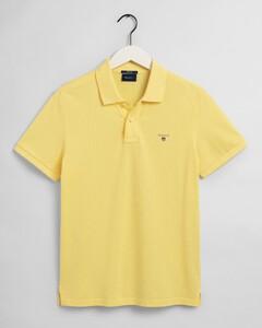 Gant Gant Piqué Polo Polo Brimstone Yellow