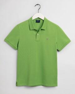 Gant Gant Piqué Polo Polo Foliage Green