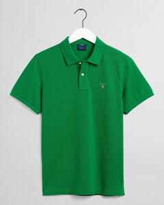 Gant Gant Piqué Polo Polo Lavish Green