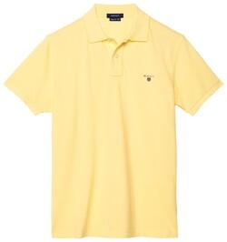Gant Gant Piqué Polo Polo Lemon