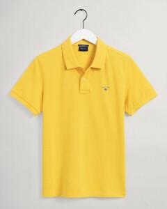 Gant Gant Piqué Polo Polo Sunlight Yellow