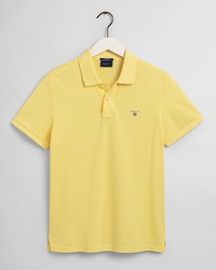 Gant Gant Piqué Polo Poloshirt Brimstone Yellow