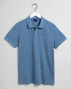 Gant Gant Piqué Polo Poloshirt Denim Blue