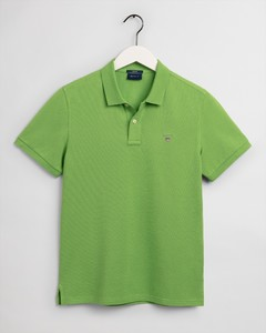 Gant Gant Piqué Polo Poloshirt Foliage Green