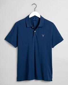 Gant Gant Piqué Polo Poloshirt Insignia Blue