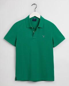 Gant Gant Piqué Polo Poloshirt Lush Green