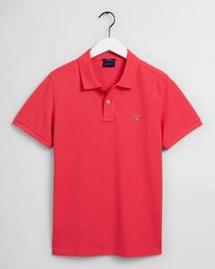 Gant Gant Piqué Polo Poloshirt Paradise Pink