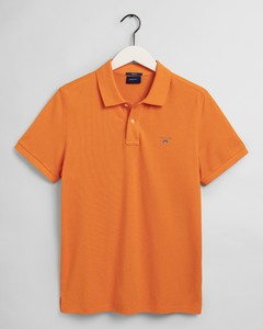 Gant Gant Piqué Polo Poloshirt Russet Orange