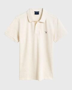 Gant Gant Piqué Polo Poloshirt Seed Melange