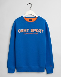 Gant Gant Sport C-Neck Pullover Strong Blue