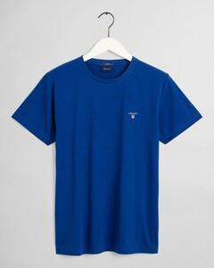 Gant Gant The Original T-Shirt T-Shirt Blauw