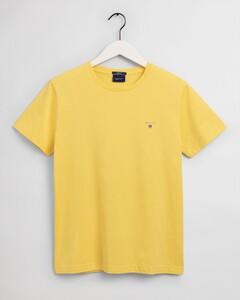Gant Gant The Original T-Shirt T-Shirt Brimstone Yellow