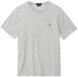 Gant Gant The Original T-Shirt T-Shirt Licht Grijs